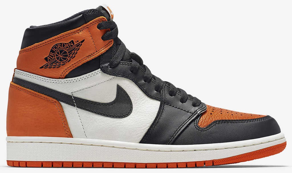 buy popular 6afe6 e66a5 See How the 'Shattered Backboard' Air Jordan 1s Look On-feet ...