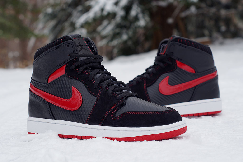 Air Jordan 1 Carbon Fiber, Suede & Patent Leather by JBF Customs (2)