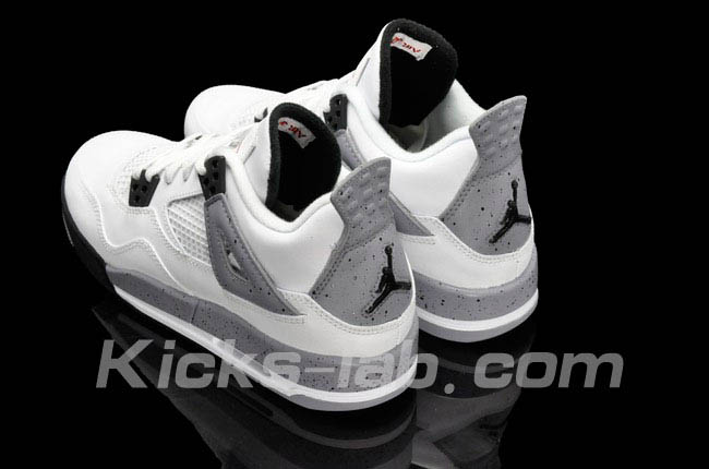 Air Jordan 4 Retro White Cement