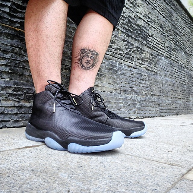 Air Jordan Future 3M Reflective Black On-Foot (1)