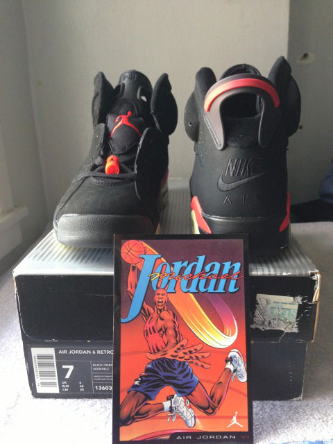 Spotlight // Pickups of the Week 5.19.13 - Air Jordan VI 6 Retro Infrared by w1dabread