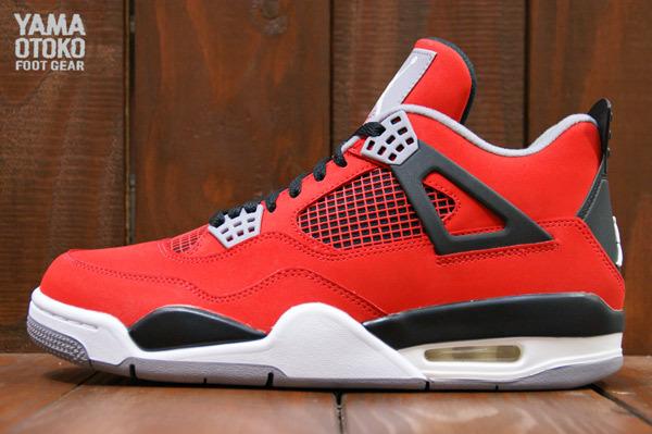 red air jordans