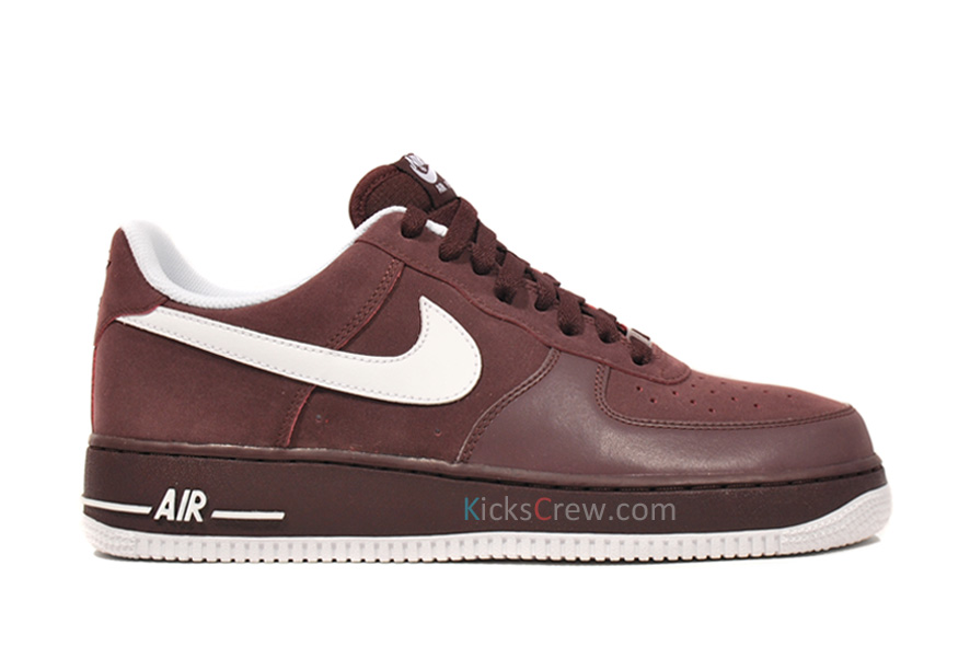 Nike Air Force 1 - Deep Burgundy/White