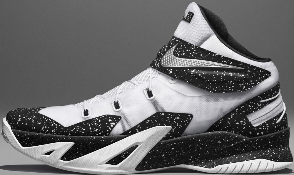 Nike Zoom Soldier VIII Flyease White/Metallic Silver-Black