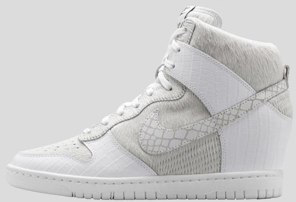 Nike Dunk Sky Hi SP Women's White/White