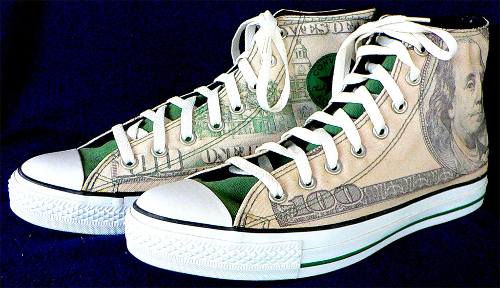 8c09eda6aa4 Money Talks  The Best Sneakers With    Print
