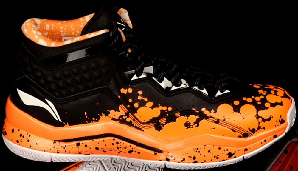 Li-Ning Way Of Wade 3 Black/Orange
