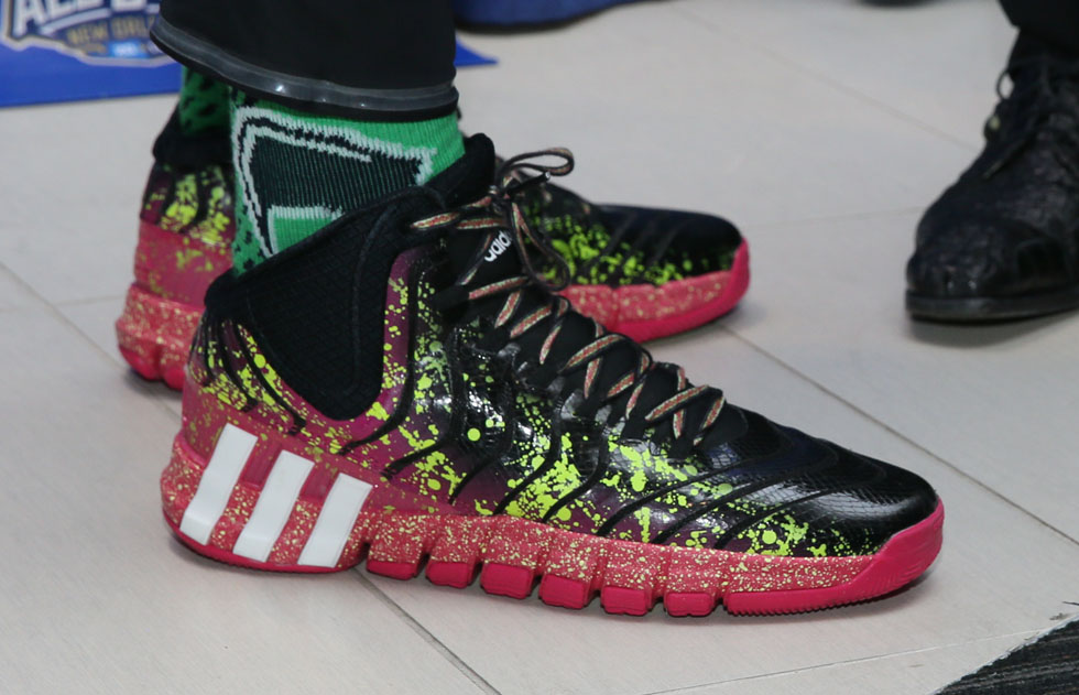 John Wall wearing adidas Crazyquick 2 All-Star