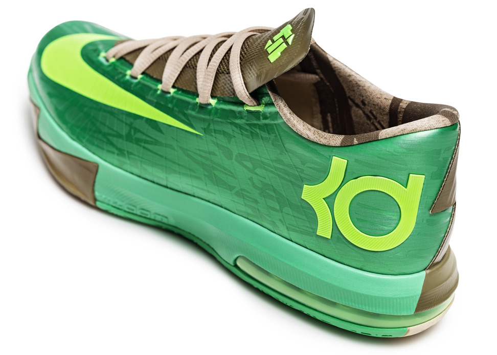 nike kd 6 kevin durant bamboo close