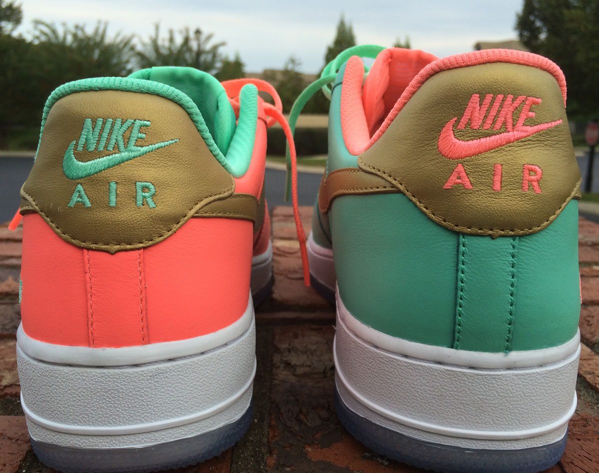 Wedding Married Nike Air Force 1 Sneakers (1)