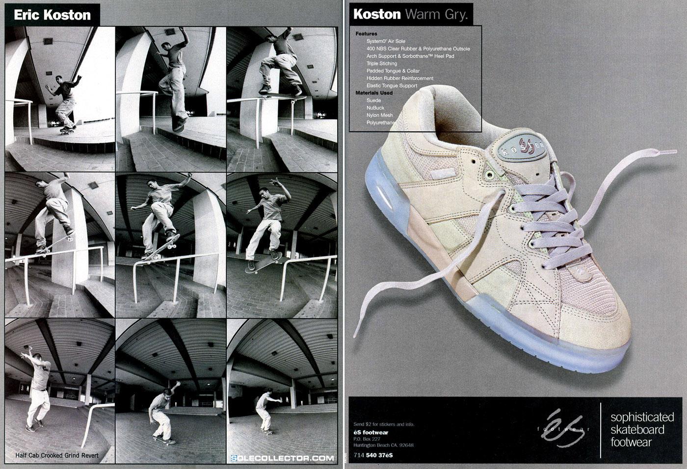 Vintage Ad: éS Eric Koston 1 | Sole Collector