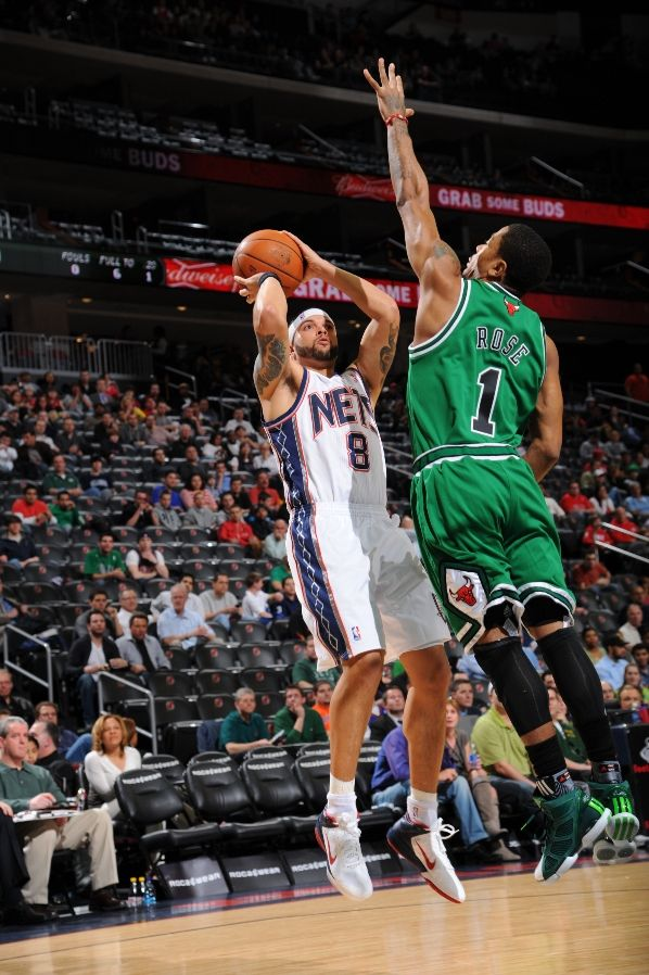 Deron Williams wearing the Nike Zoom Hyperfuse Low 9e0f4c963