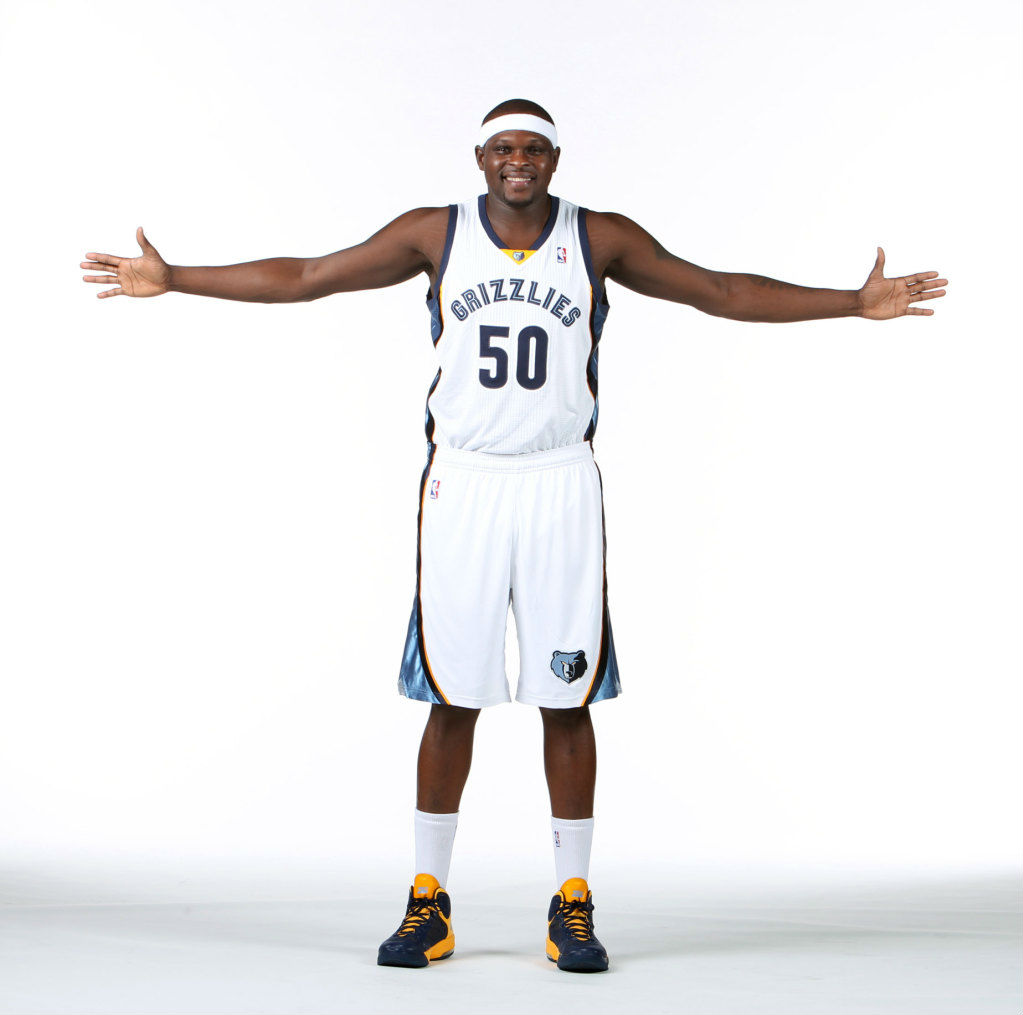 Zach Randolph wearing Nike Air Max Hyperguard Up