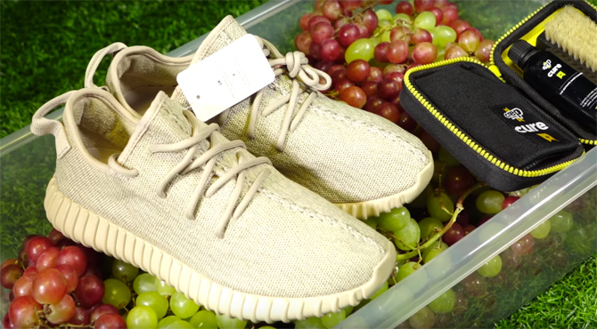 promo code b5883 1e76f The adidas Yeezy Boost 350 Is Excellent for Crushing Grapes ...