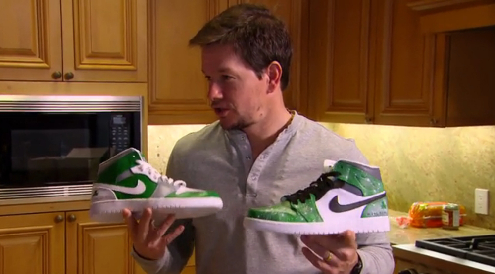 Mark Wahlberg Air Jordan 1 Wahlburgers