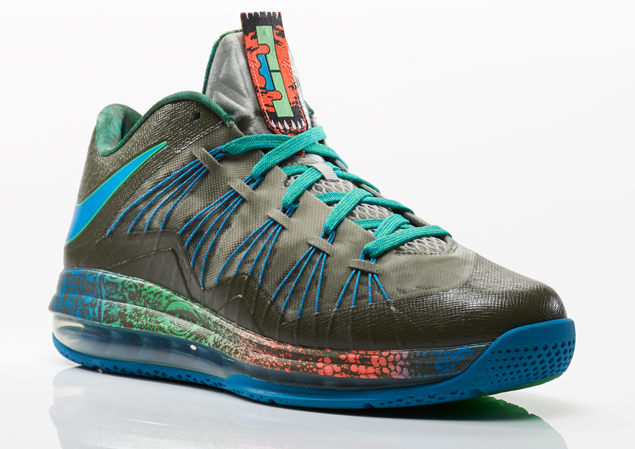 Nike Air Max LeBron 10 Low Swamp Thing