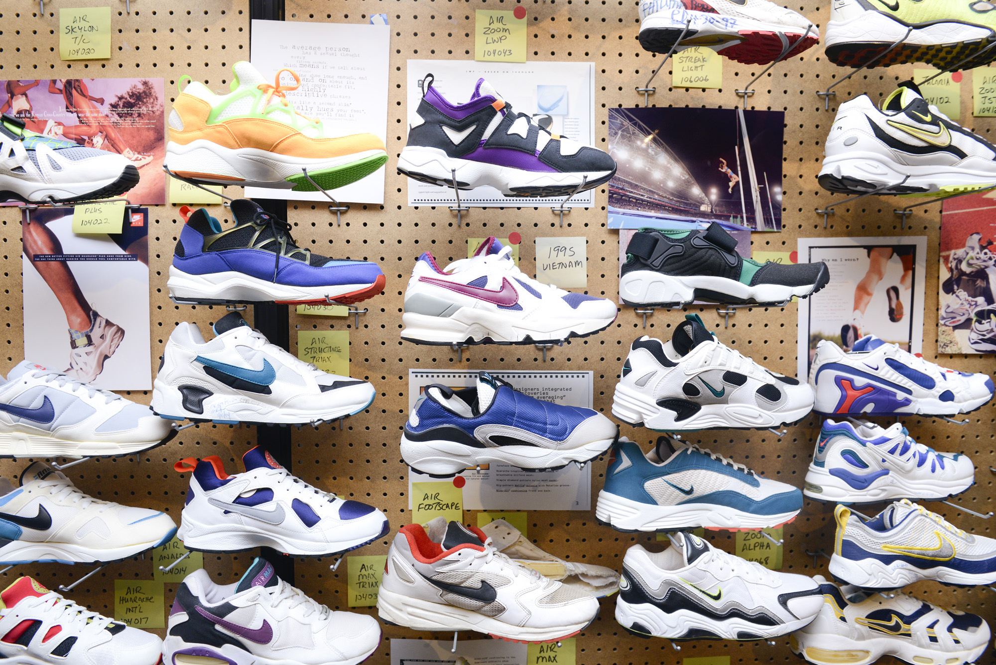 cheap for discount 7203b 3a75c Image via Coveteur · Coveture Inside Nike Archive 1