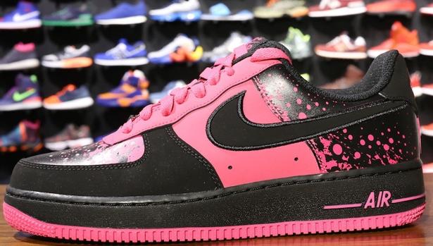 Nike Air Force 1 Low Vivid Pink/Black
