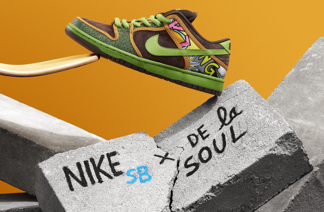 cheaper 7d454 515a4 ... best price de la soul nike sb dunks are almost here sole collector  c1ab2 54e5c