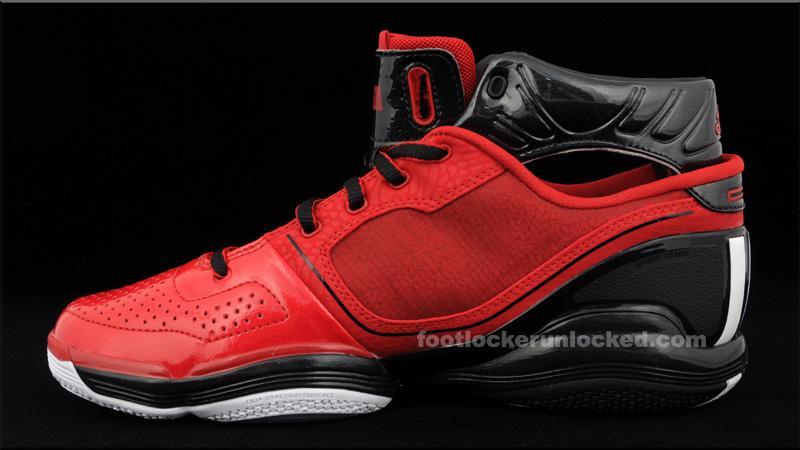 f9823d5c91d2 Available  adidas adiZero Rose - University Red Black