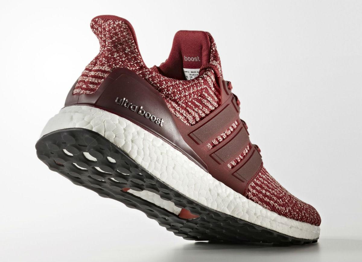 Adidas Ultra Boost 3.0 Burgundy Lateral BA8845