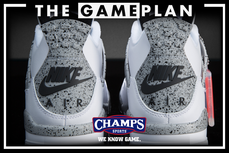 088565bfd049 The Game Plan by Champs Sports Presents the Jordan Cement Collection ...