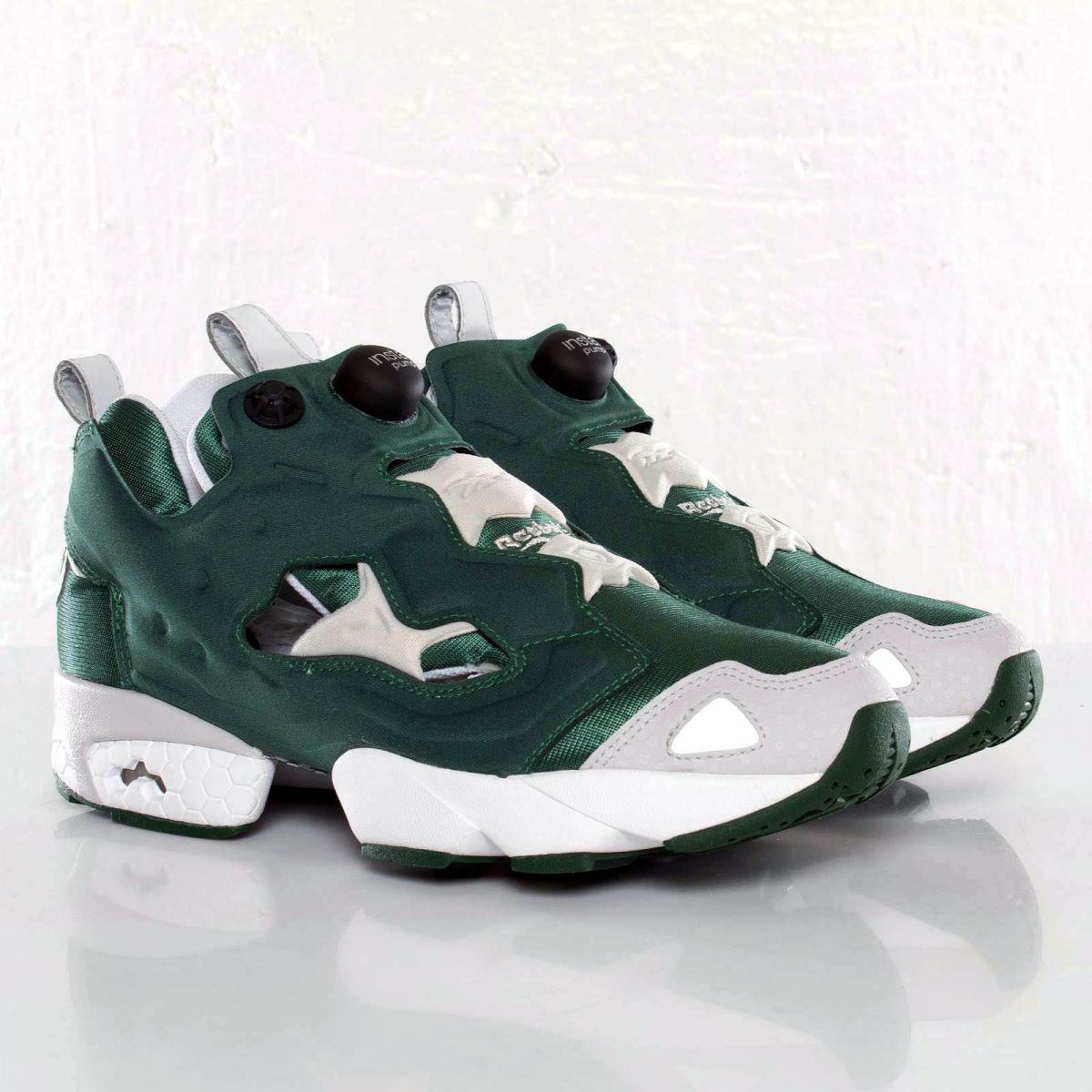 reebok pump fury racing green sole collector. Black Bedroom Furniture Sets. Home Design Ideas