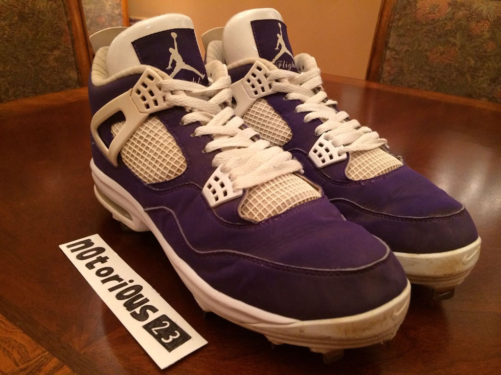 Air Jordan IV 4 Purple Suede Sunset Apollos PE (3)
