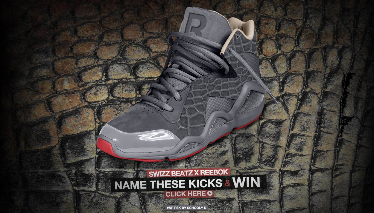 Swizz Beatz x Reebok Name The Shoe Contest