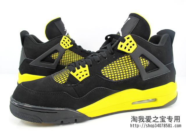 Air Jordan IV 4 Thunder 308497-008 (12)