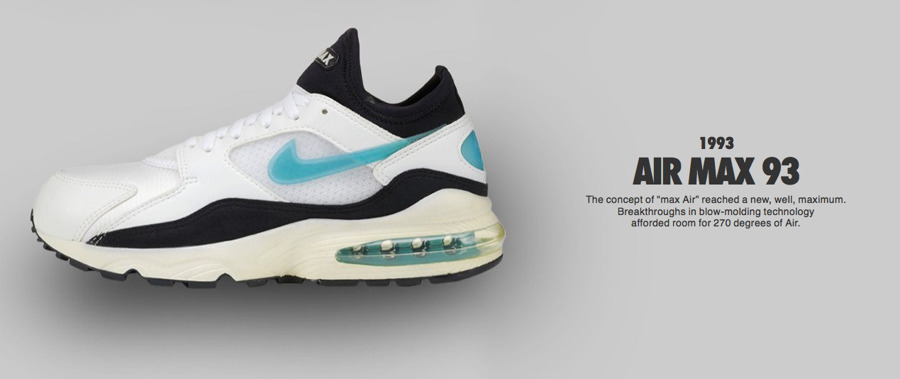 ... Nike Presents a Brief History of Air Max Air Max 93 ...