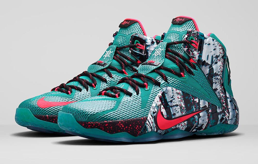 8acf7d71e609 ... get nike lebron 12 christmas releae date 12 26 14. color emerald green  dark emerald