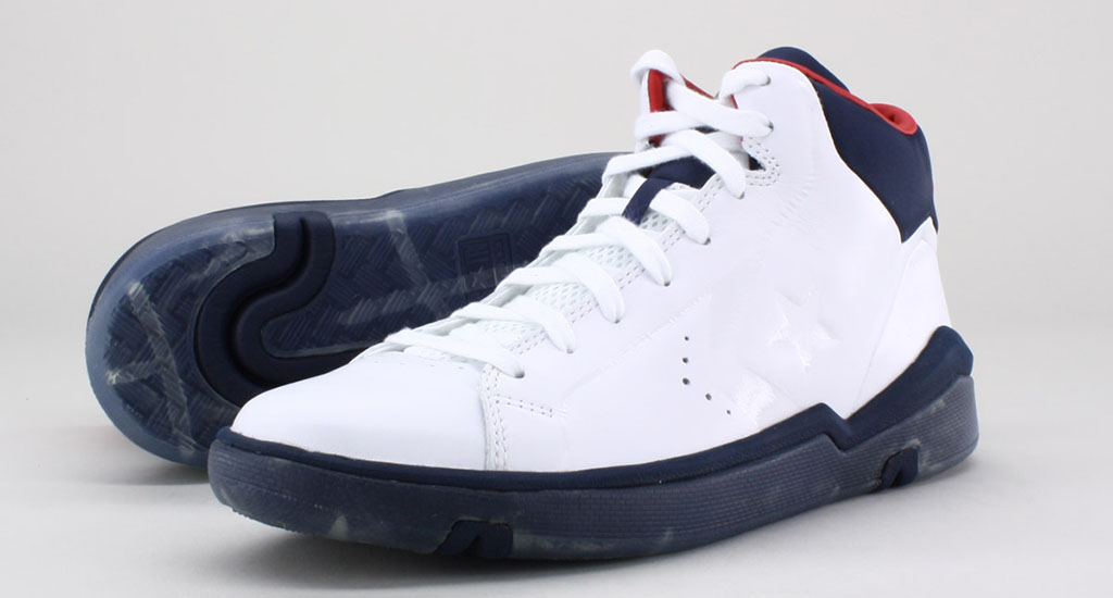 Converse Pro Leather 2012 Mid White Navy Red (3)