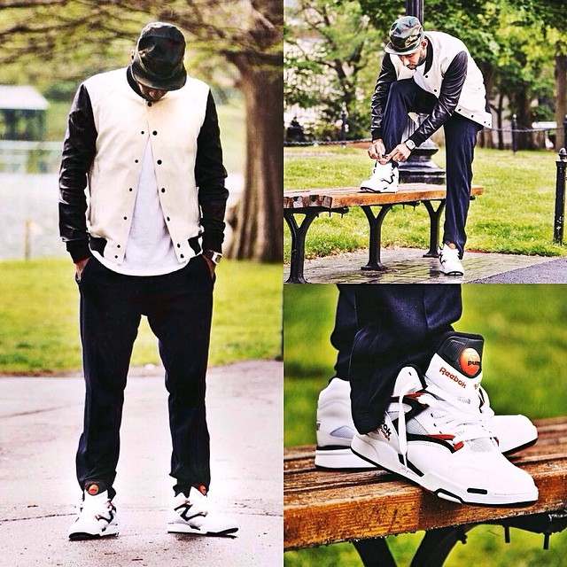 Swizz Beatz wearing Reebok Pump Omni Lite