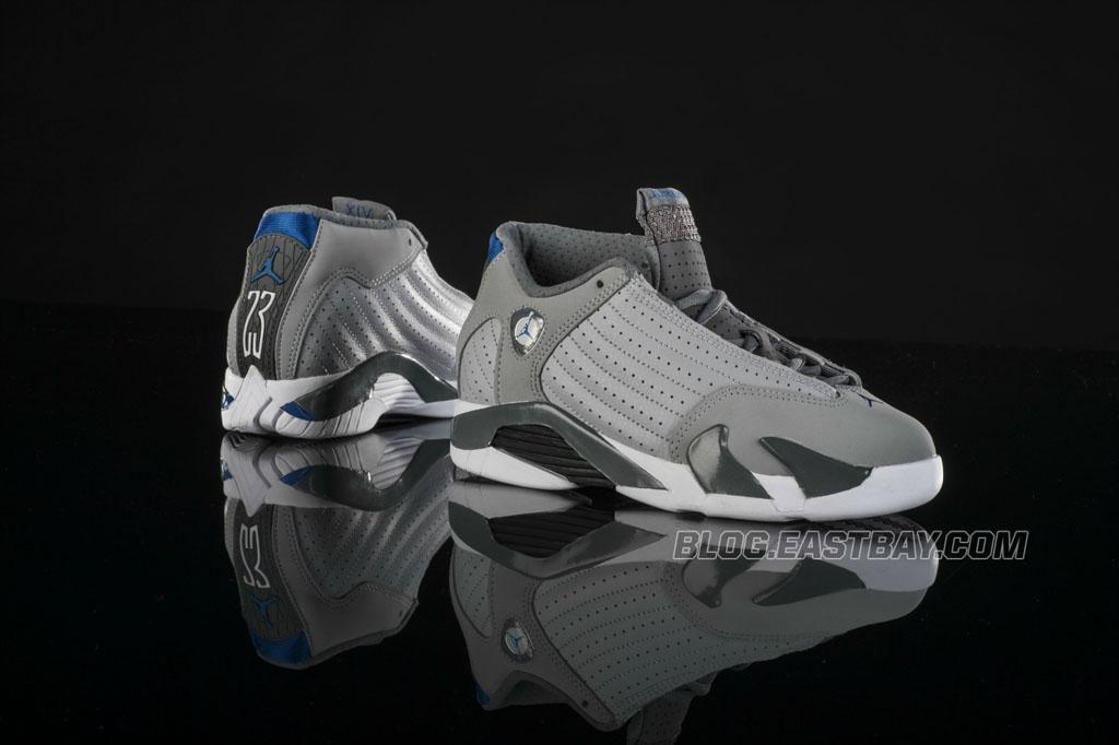 Air Jordan 14 Grey Blue