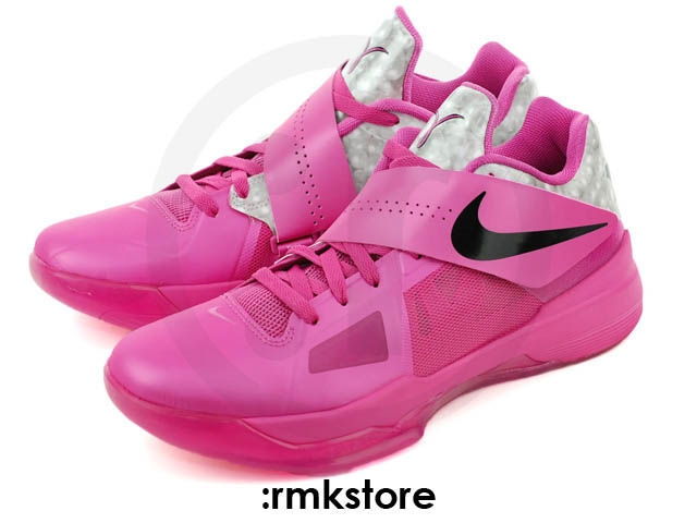 Nike Zoom KD IV Aunt Pearl Think Pink Kay Yow 473679-601 (2)