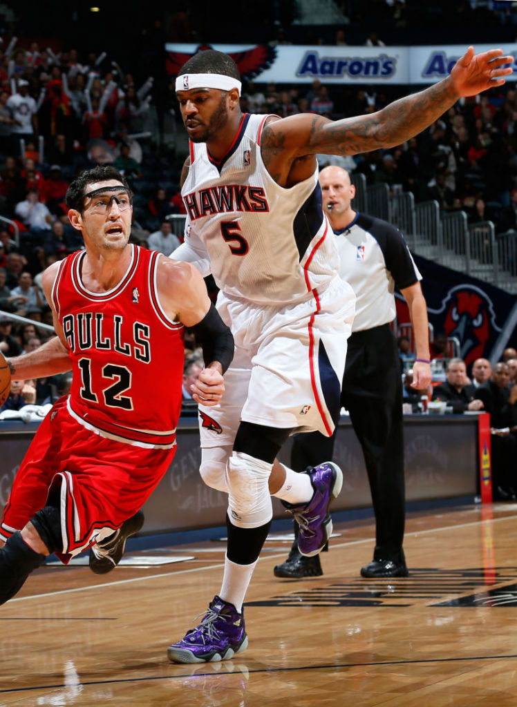 Josh Smith wearing adidas Top Ten 2000 Nightmare