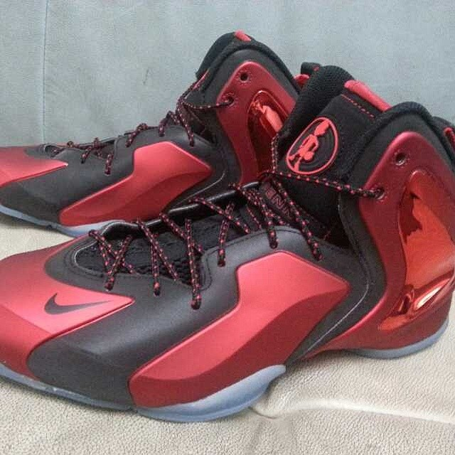 d7e5c3a3478a Nike Lil  Penny Posite - Red Black