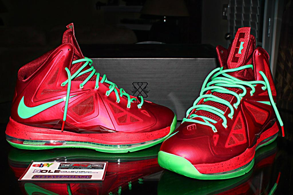 Nike LeBron X - Christmas - Detailed Look  2d955ac4ce88