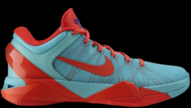 Nike Zoom Kobe 7 FC Barcelona Cool Mint/Bright Crimson