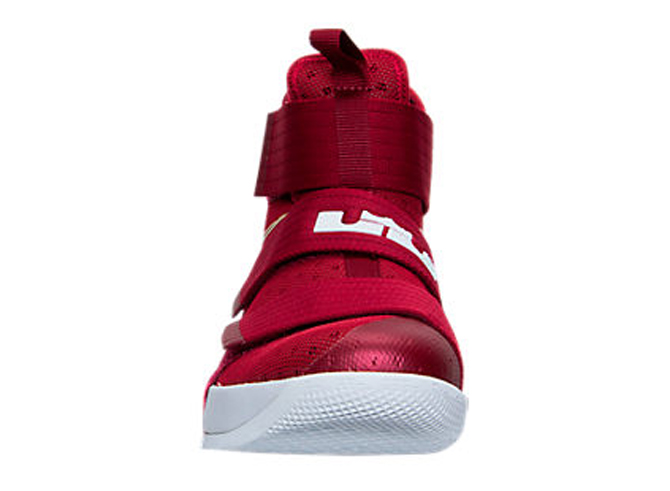 detailed look 9b61d e50ed Image via Finish Line LeBron Soldier 10 Christ the King 844374-668 Front