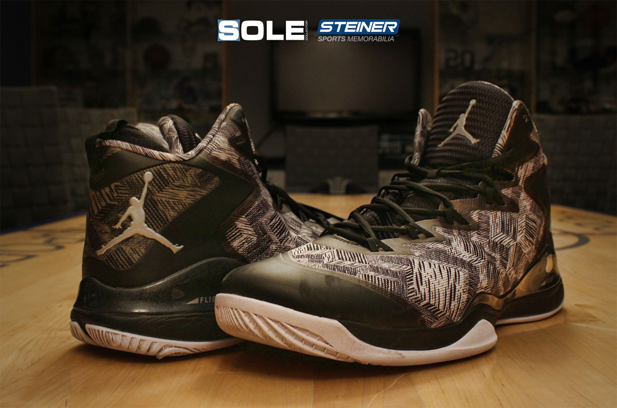 ee69a19510b1 Win a Pair of Joe Johnson s Game-Worn Jordan Shoes