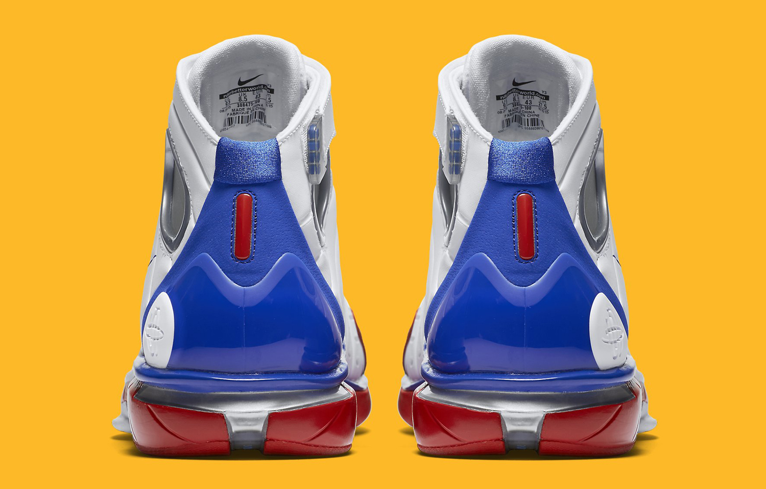 af43a4b6eef0 Nike Commemorates Kobe s Final All-Star Game on Unexpected Retro. The  return of the Huarache 2K4.