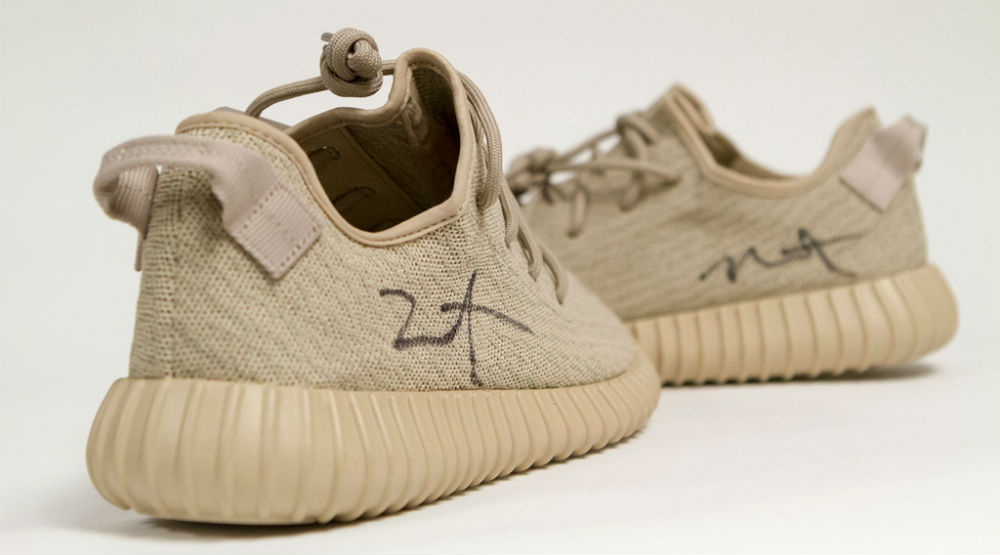 Kanye West Autographed Oxford Tan Yeezys