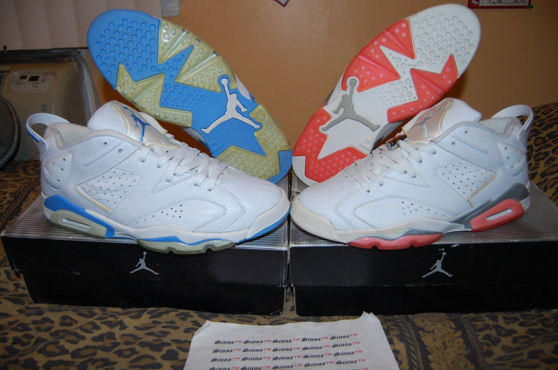 Pickups of the Week // Air Jordan VI 6 Lows by Sinna TM