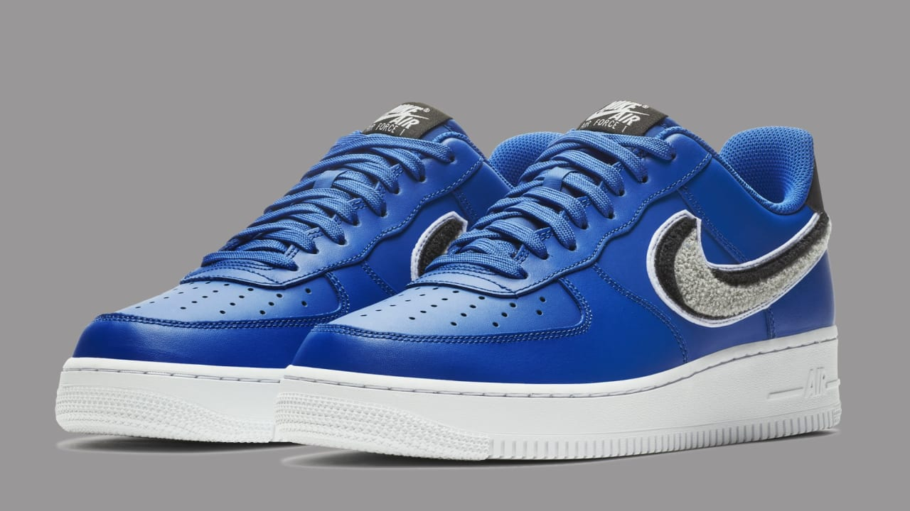 Nike Air Force 1 Low 3D Blue 823511-409 Release Date   Sole ...