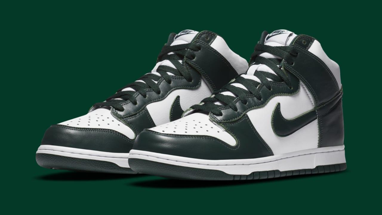 patio fluir El uno al otro  Nike Dunk High 'Spartan Green' Release Date CZ8149-100 | Sole Collector