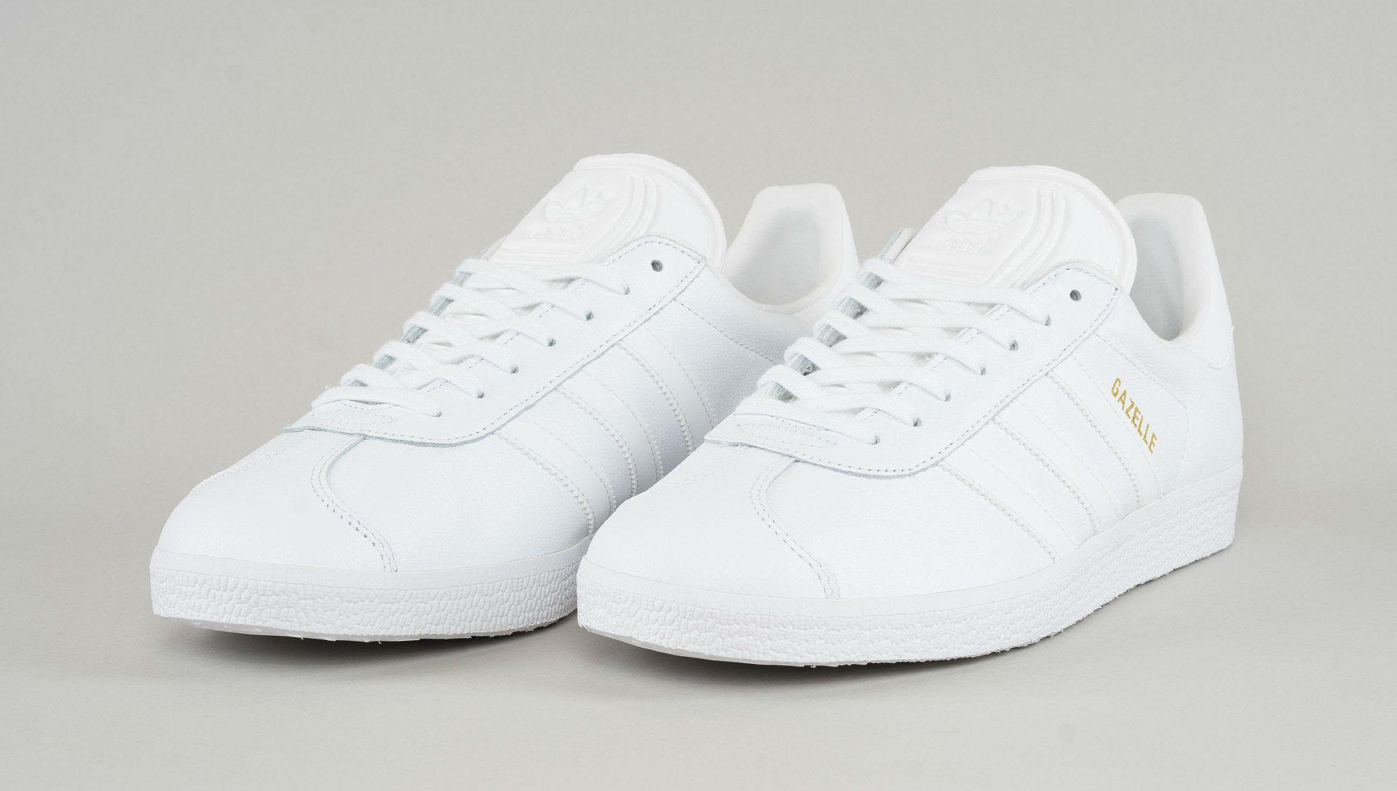 797ff63aeb3 Adidas Gazelle Triple White