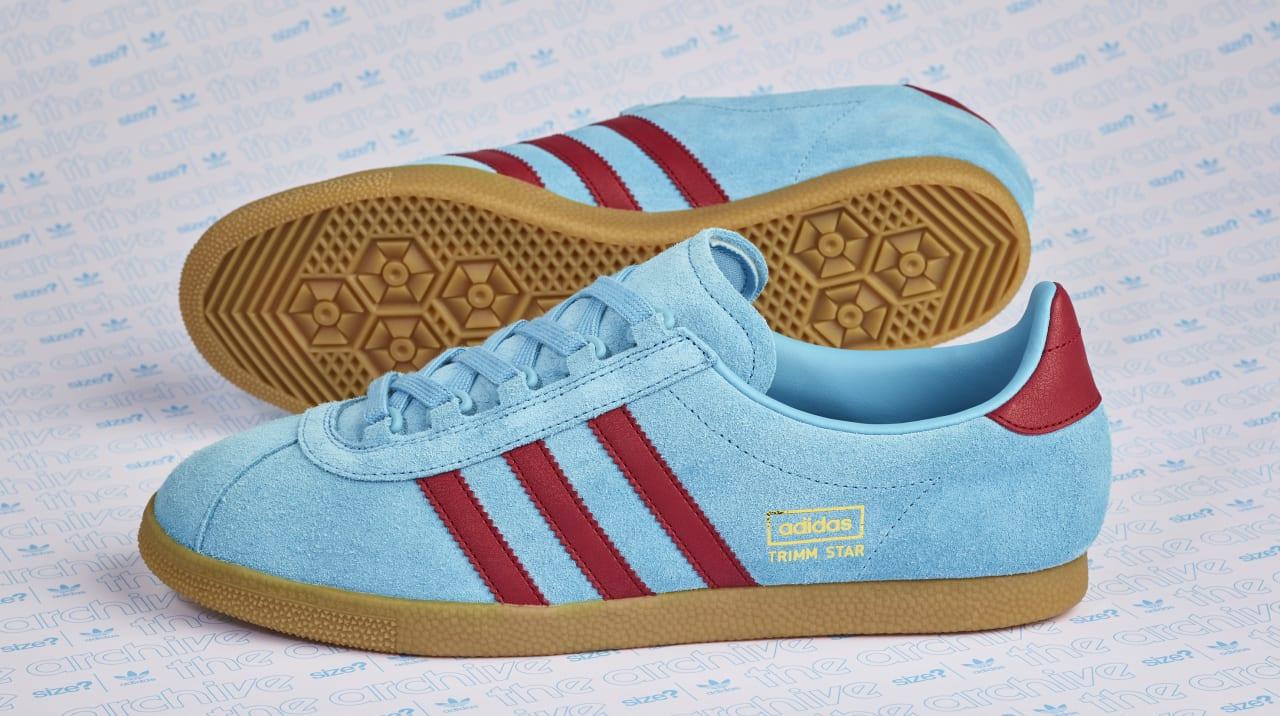 adidas 350 claret and blue