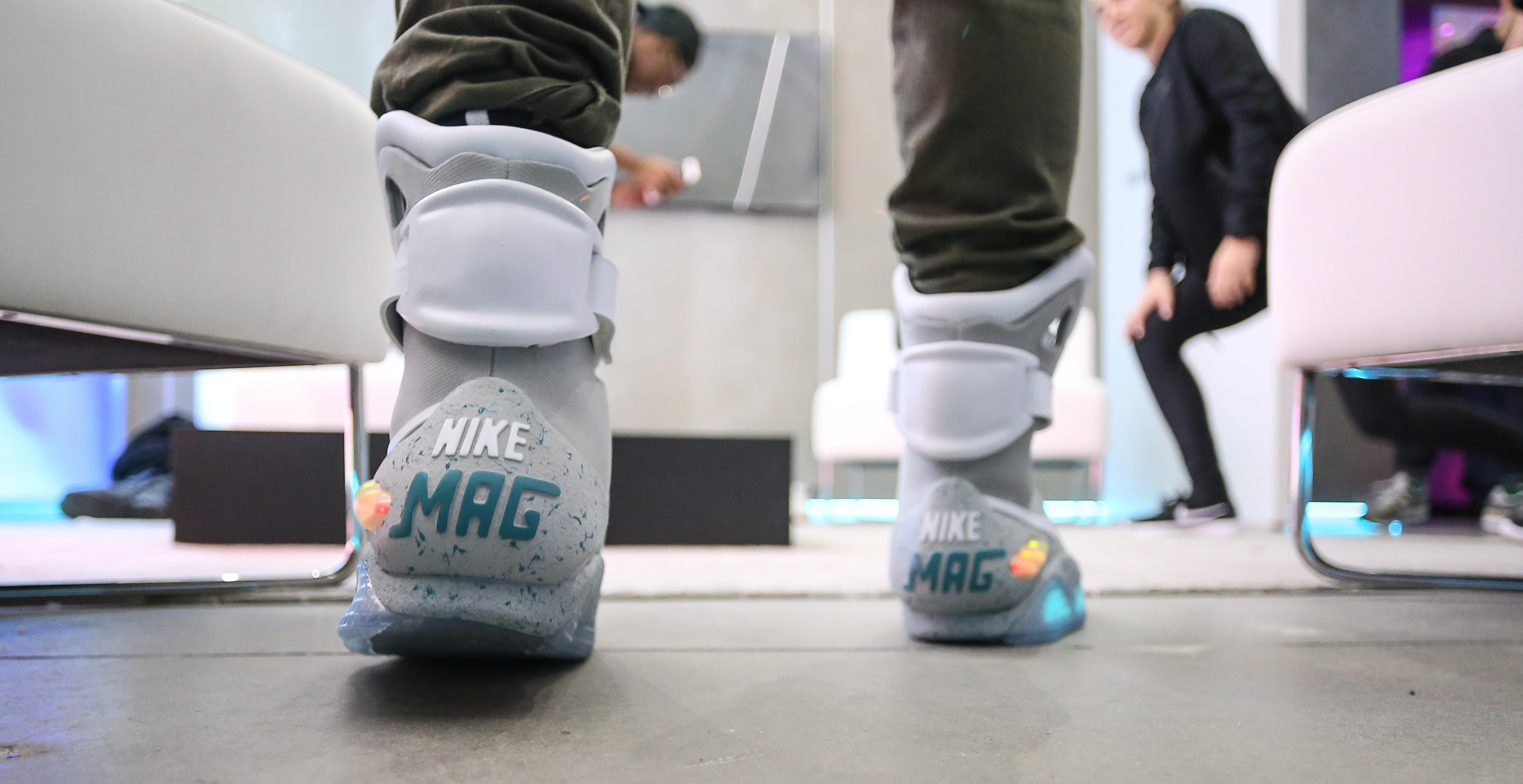 2016 Nike Mag on Feet